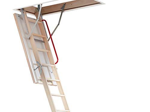 Intercon® Comfort Bodentreppe 6 Maße mit Wärmeschutzdämmung U-Wert 1,130 (111 x 60 cm)