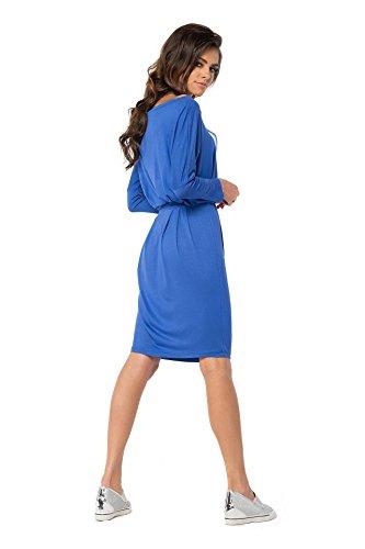 AE -  Vestito  - Maniche a 3/4 - Donna Blau