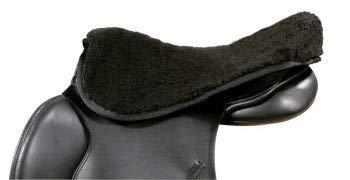 PFIFF 003330-60-Full Sattelsitzbezug/Warmblut, schwarz