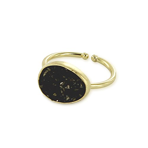 medecine-douce-womens-gold-plated-lagon-small-ring-size-k