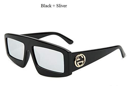 Kjwsbb Platz Sonnenbrillen Frauen Brille Sonnenschutz Große Rahmen Sonnenbrille Für Männer Rot Rosa Linse Vintage