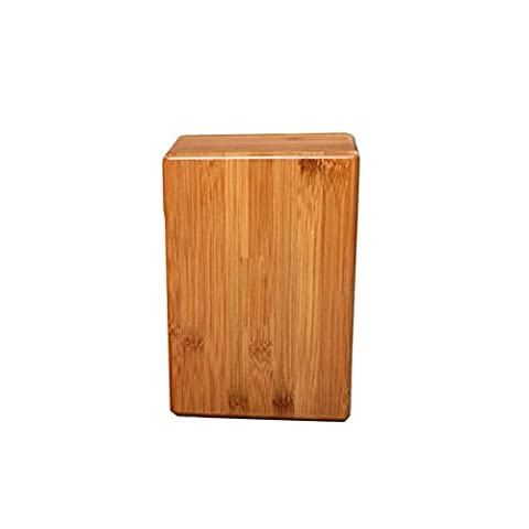 Grofitness Bamboo Yoga Blocks Exercise Fitness Sport Tool--Environmentally Friendly and Renewable Yoga Brick (Single Block)