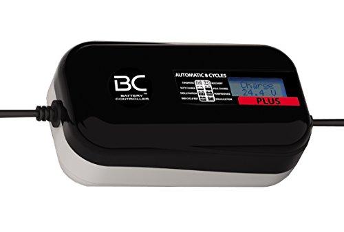 BC PLUS 4000 - 24V 4A - Caricabatteria e mantenitore digitale a 8 cicli di carica per tutte le batterie 24V al piombo-acido di camion, furgoni e barch