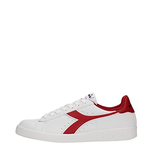 Diadora 101.160281/AI Sneakers Uomo Ecopelle White/Chili Pepper White/Chili Pepper 41