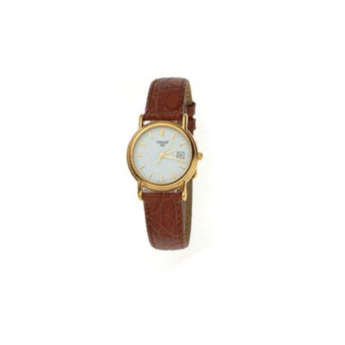 Tissot Damen-Armbanduhr Gold Carson T71312913