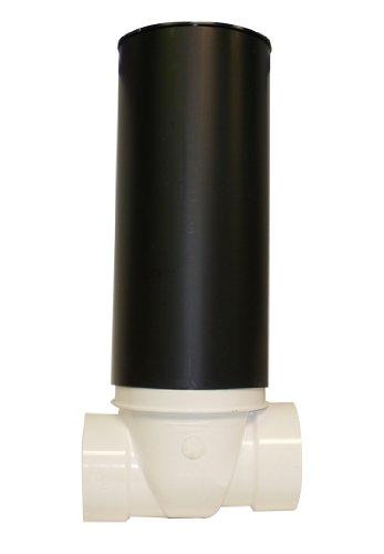 canplas 223287W PVC Backwater Ventil mit 40,6cm Zugang Ärmel und ABS Deckel, 3Zoll