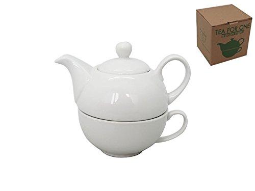Teiera con tazza porcellana tea for one mastercasa
