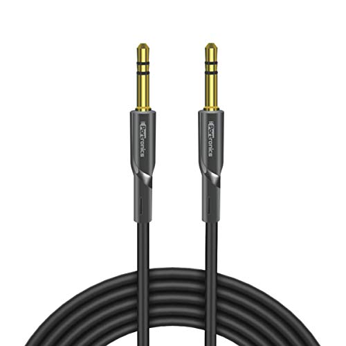 Portronics Konnect AUX II POR-061 AUX Cable - 4.92 Feet (1.5 Meters) - Black