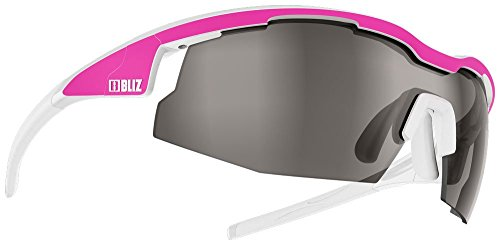 Bliz Sprint Sunglasses Smoke Lens - Neon Pink/White