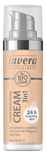 Lavera Tinted Moisturising Cream 3in1 -Ivory Nude 02, 30 ml