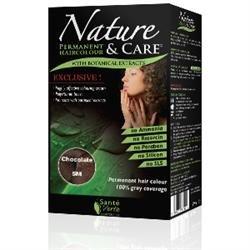 Santé verte - Nature & soin Chocolat 5M sans ammoniaque, sans paraben, sans silicone et sans résorcine