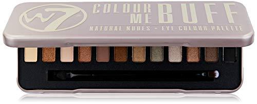 W7 Eye Colour Palette - Colour Me Buff