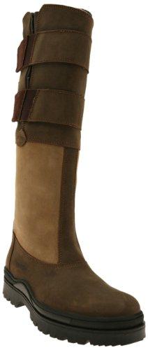 Suffolk, Stivali in pelle da equitazione Country, Marrone (- Braun/Hellbraun), 40 Marrone (- Braun/Hellbraun)