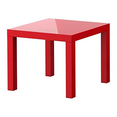 LACK - Side Table, High-Gloss Red 10