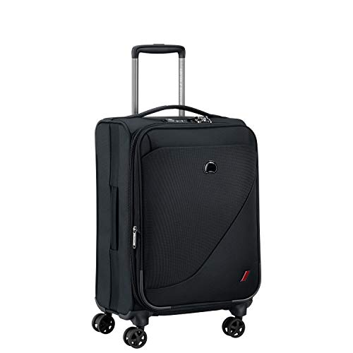 DELSEY Paris New Destination Valise, 55 cm, 40,7 L, Noir