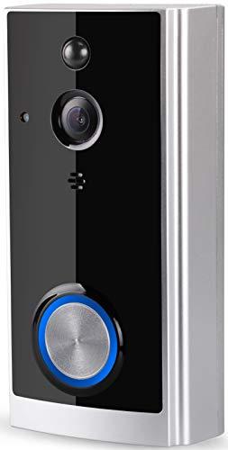 Weber Protect Video Türklingel, Video Doorbell (inkl. Wireless Klingel), mit HD Auflösung, Bewegungserkennung, Nachtsicht, Audio Kommunikation und volle App Integration.