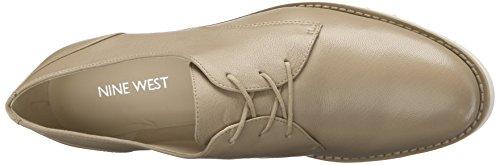 Nine West Winslit Leather Walking Shoe Light Natural