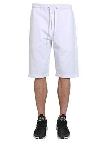 MCQ by Alexander Mcqueen Homme 401406RLT859000 Blanc Coton Shorts MCQ Alexander McQueen