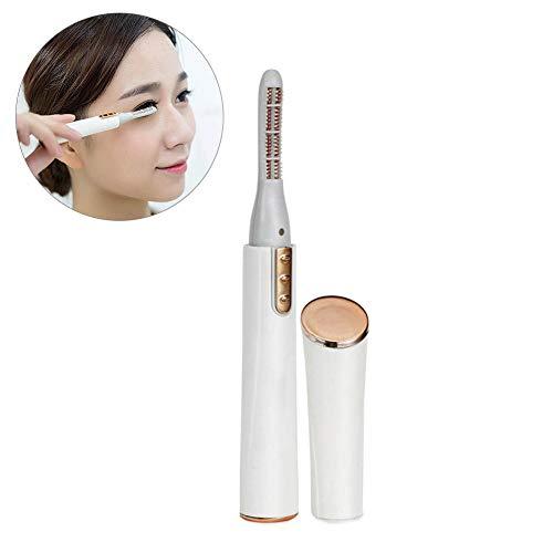 Wimpernzange Beheizbare Elektrischer - Wimpernformer Mit 15 Sekunden Schnelles Aufheizen, Aus Silikonwärmeleitung, Make-up Eyelash Curler