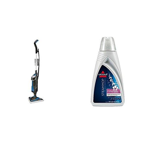 BISSELL PowerFresh LiftOff Dampfreiniger + Demineralisiertes Wasser Spring Breeze Set (Multi-oberflächen-boden-reiniger)