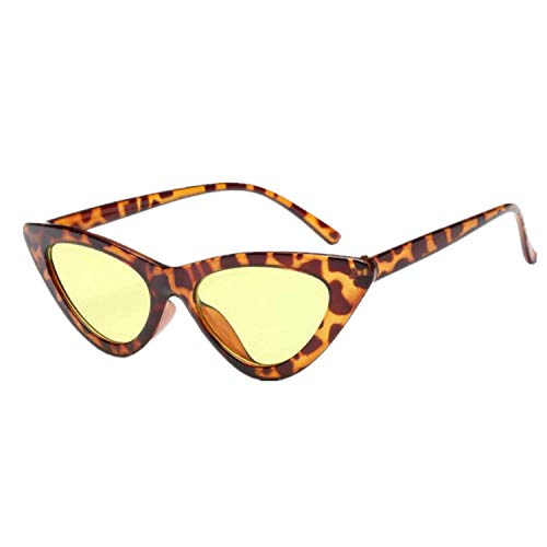 OULN1Y Sport Sonnenbrillen,Vintage Sonnenbrillen,Fashion Cute Sexy Ladies Sunglasses Women Vintage Small Sun Glasses Female Uv400