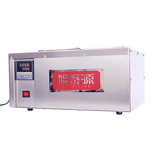 Máquina de fusión de chocolate de barras paralelas, horno de fusión de...