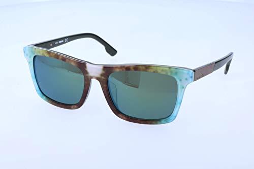 Diesel occhiali da sole, marrone (brown), 55.0 unisex-adulto
