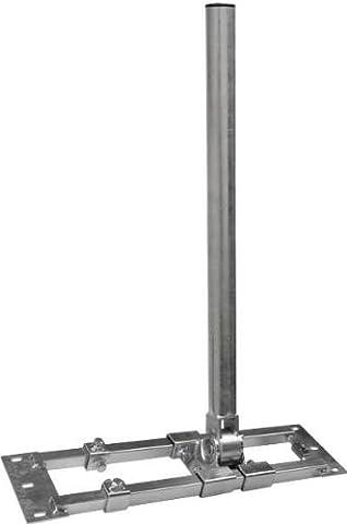 Dachsparrenhalter - DUR-line® Herkules S60-900 - über 1000Nm - Breite:90 - 120 cm, Masthöhe:90cm, Ø:60mm, feuerverzinkt,