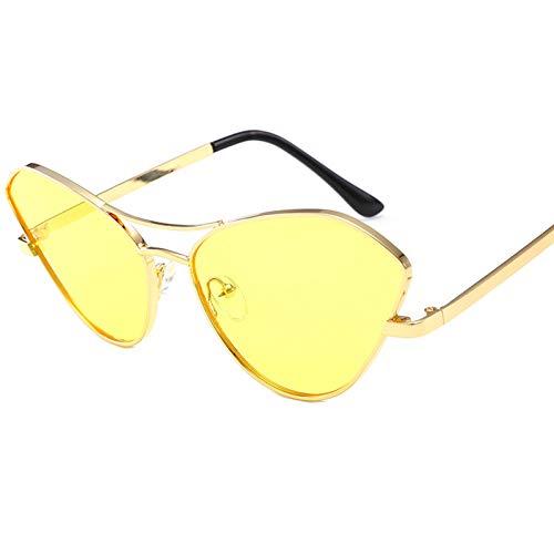 RQMQRL Charm Korean Street Style Jugend Damen Sonnenbrillen Fancy Pretty Cat Eye Allzwecklinse Kunststoffrahmen Brille