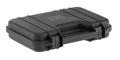 Mallette noire polycarbonate pour armes de poing