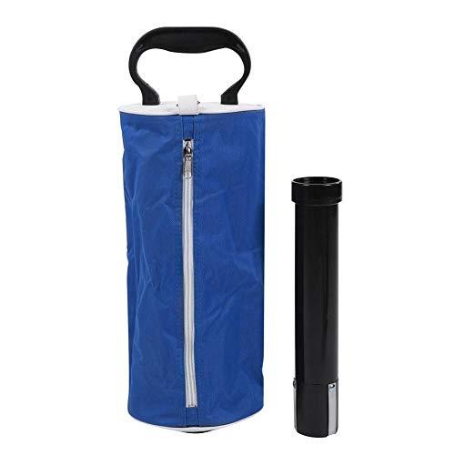 VGEBY1 Golfball Picker, Golfball Pick-up Aufbewahrungstasche Golf Retriever Golf On-Course Zubehör(Blau)
