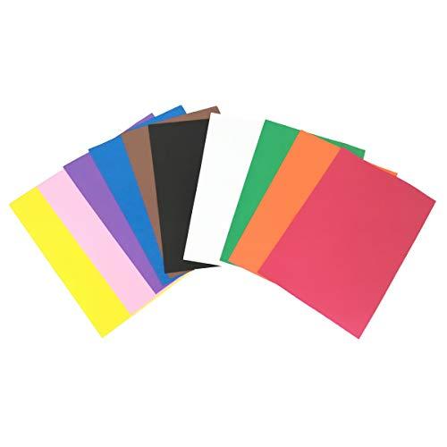 10 Bögen aus Gummi, 40 x 60 cm, 2 mm Dicke. Farbauswahl ()