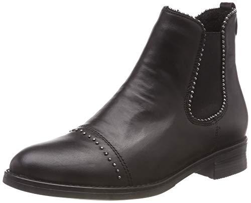Remonte Damen D8587 Chelsea Boots, Schwarz (Schwarz 01), 36 EU
