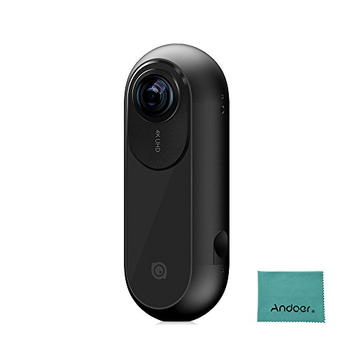 Insta360 ONE 4K 360 ° VR Action Caméra 24MP 120fps Bullet Time 6 axes Gyroscopes Prise APP Capture Gratuit Panoramique Connexion Live BT pour iPhone 7 6 pour iPad Air 2 Independent Cam autonome