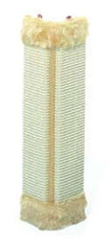 2 Stück Katzenkratzbrett 51 x 24 cm Eck-Kratzbrett Wandschutz für Zimmerecken Kratzspielzeug für...