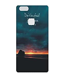 Techno Gadgets Back Cover for huawei honor v8