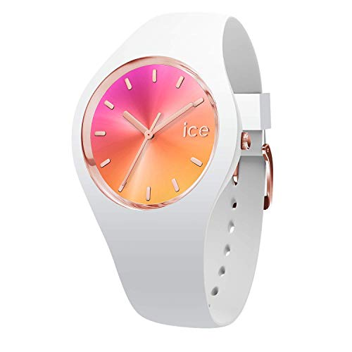 Ice Watch Womens Analogue Quartz Watch with Silicone Strap 15750