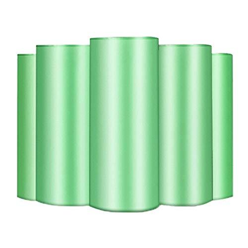 JiDan Bolsas de basura150PCS 50 * 40CM Tamaño Bolsas de Basura Color único Grueso Conveniente Limpieza...