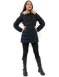 Amazon.it  Piumini Peuterey - Blu   Giacche e cappotti   Donna ... fa33ba19268