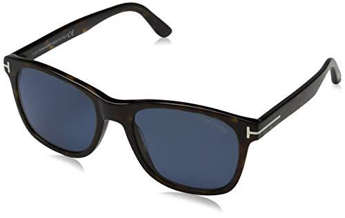 Tom Ford Unisex-Erwachsene FT0595 52D 55 Sonnenbrille, Braun (Avana Scura/Fumo Polar),