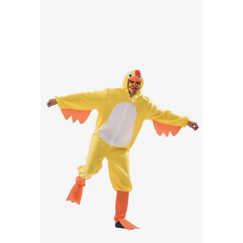 Gelbes Huhn Kostüm für Erwachsene ()