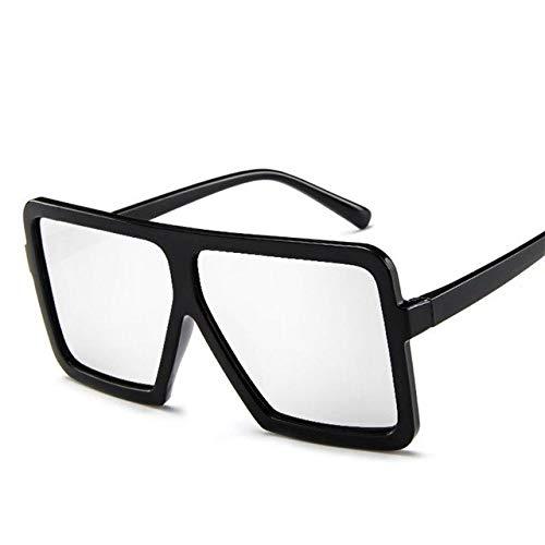 GNLLYOPBig Frame Sonnenbrille Frauen Designer Frauen Männer Platz Sonnenbrille Vintage Classic Uv400 Outdoor Eyewear