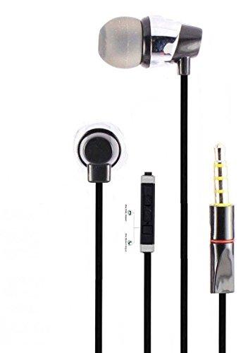 ShopsGeniune Realme 2 Earphone DV Wired Stereo Bass Head Hands-Free Headset Earbud in-Ear Headphone with Mic, Calling 3.5mm Jack
