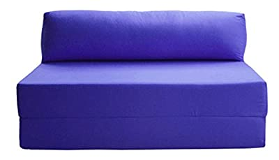 JAZZ SOFABED - ROYAL BLUE Deluxe Double Sofa Bed