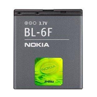 Preisvergleich Produktbild 100 % ORIGINAL NOKIA HANDY AKKU (BL-6F) - für NOKIA - N78 - N79 - N95 8GB