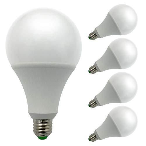 4er Pack,ZHENMING E27 Led Glühbirne,12V-24V 15W 1450 Lumen,Superhelles LED SMD,150W Halogen lampen...