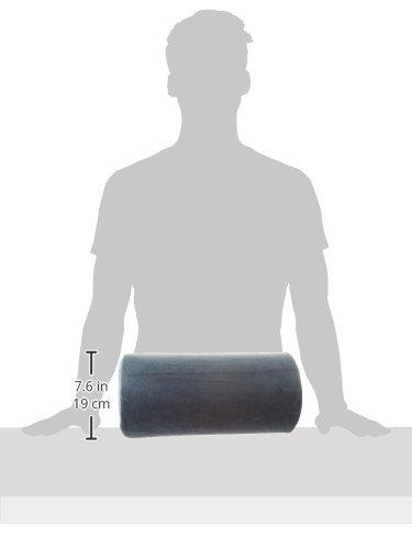 \'Halbmond\' Memory Schaum Polster Kissen - Für Nacken, unterer Rücken, Knie, Beine, Füße, praktisch jede Position!