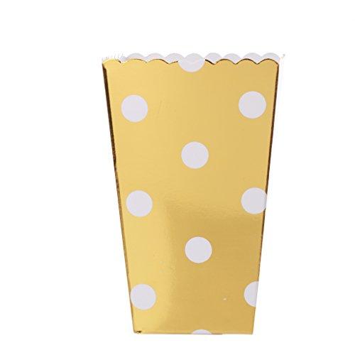 Gazechimp Punkt Muster Popcorn-Boxen, Pappe Party Candy Container, Set/12Stück 31drvhwxLsL