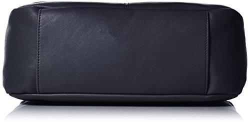 Timberland Damen Tb0m5250 Umhängetasche, 13.5x23x34.5 cm Blau (Black Iris)