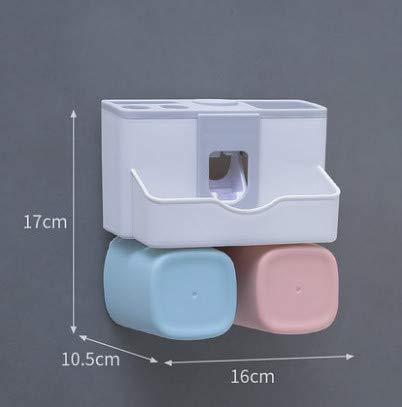 Zahnpasta Box Wandbehang Händewaschen Badezimmer Put Things Shelf Zahnbürste Rack Storage Rental Room Wesentliche Artefakt Paar Modelle 16 * 10,5 * 17 cm -